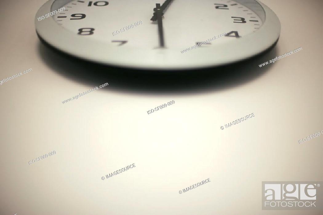 Stock Photo: Wall clock.