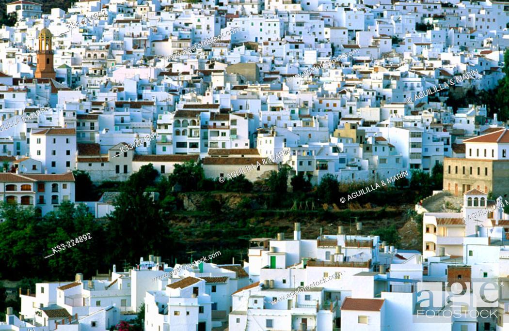 Stock Photo: Frigiliana. Malaga province. Andalusia. Spain.