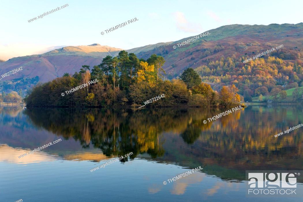 Stock Photo: Grasmere, Lake District, Cumbria, England.