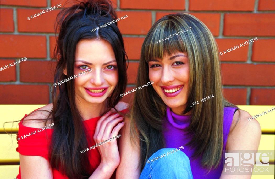 Stock Photo: Female friends.
