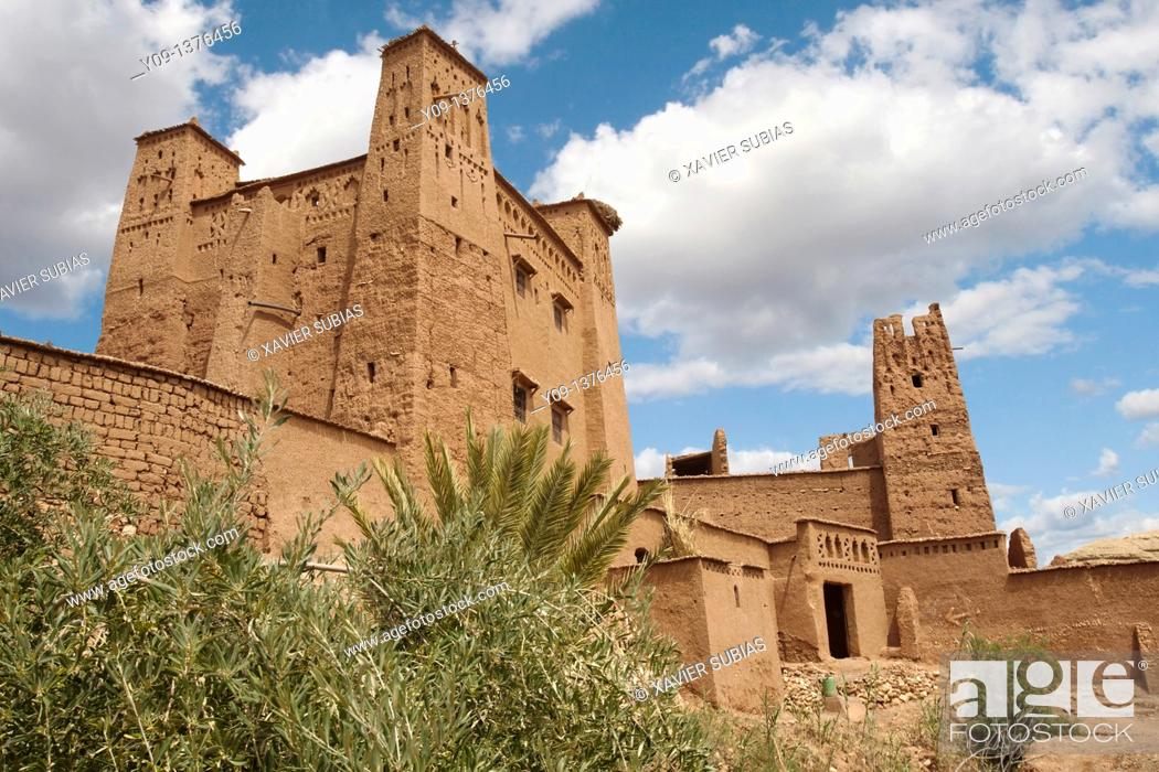 Stock Photo: Kasbah of Ait Ben Haddou, Morocco, Africa.