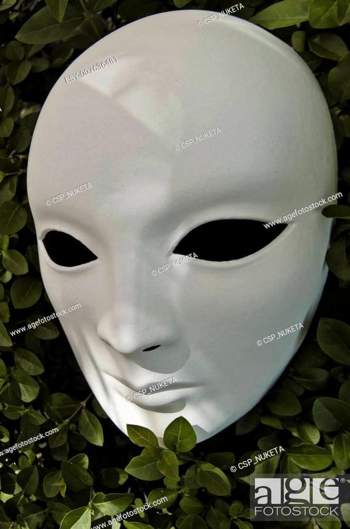 Photo de stock: White mask.