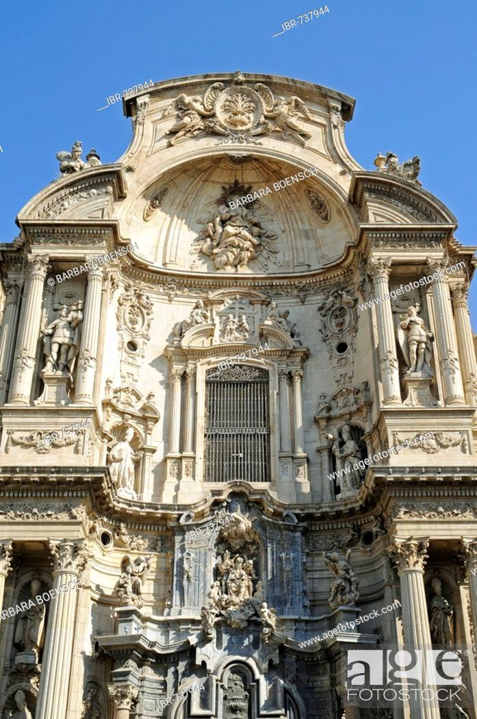 Imagen: Cathedral, Murcia, Spain, Europe.