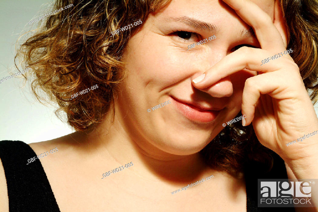 Stock Photo: People woman expressions.
