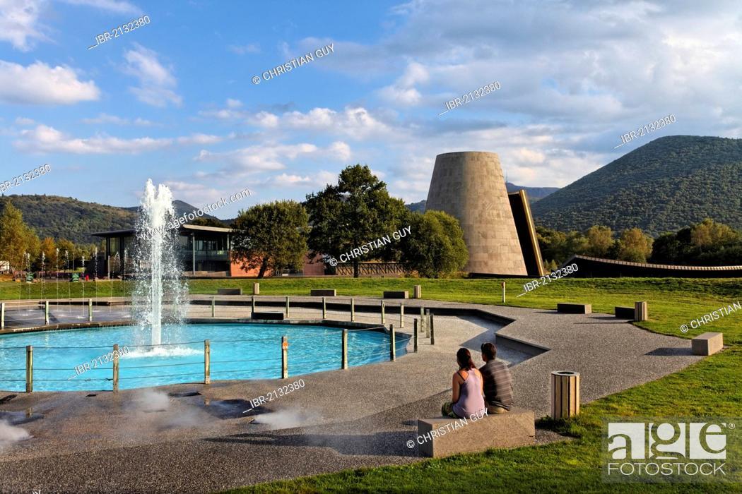 Stock Photo: Vulcania, Volcano theme and Leisure Park, Saint Ours, Parc Naturel Regional des Volcans d'Auvergne, Auvergne Volcanoes Natural Regional Park, Puy de Dome.