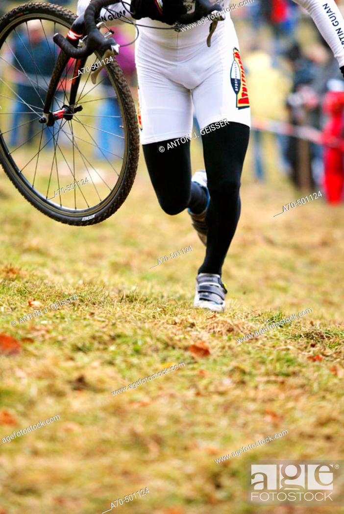 Stock Photo: Cyclo-cross, Switzerland.