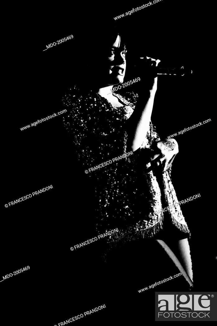 British Singer Actress And Fashion Designer Lily Allen Lily Rose Beatrice Allen Performing At Stock Photo Picture And Rights Managed Image Pic Mdo 2005469 Agefotostock