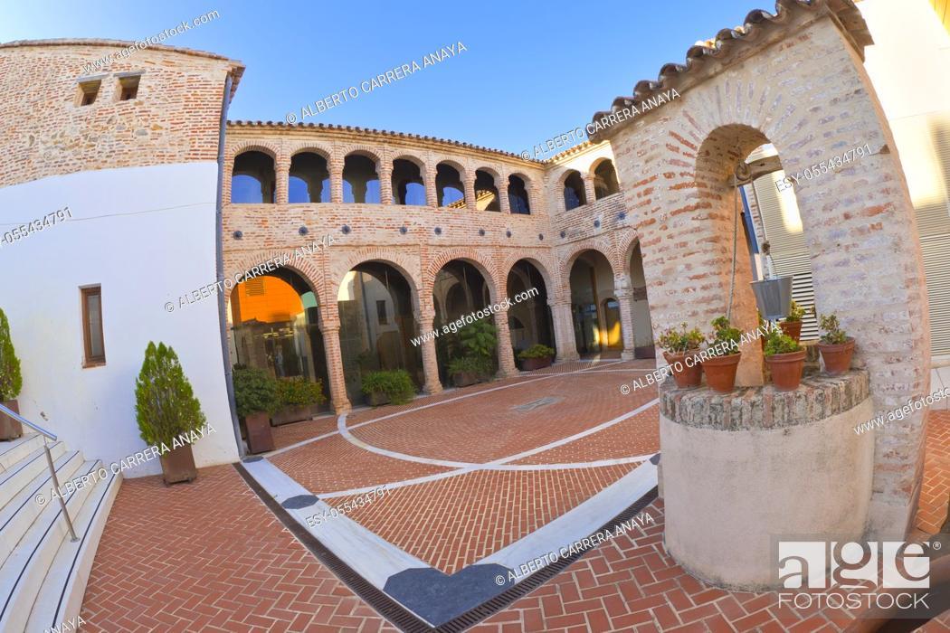 Stock Photo: Historic Museum, Old Palacio Episcopal, Historical Center, Historic Artistic Ensemble, Llerena, Badajoz, Extremadura, Spain, Europe.