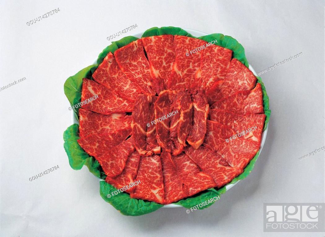 Stock Photo: ingredient, korean, food material, cuisine, meat, meats, food.