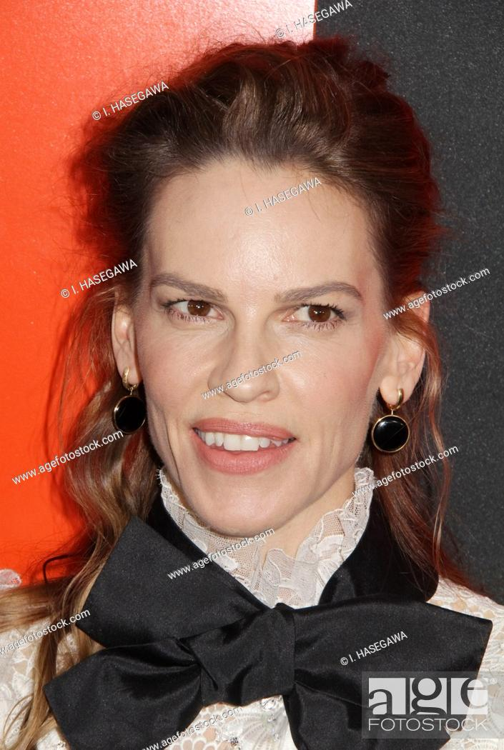 """Stock Photo: Hilary Swank 03/09/2020 The Special Screening of """"""""The Hunt"""""""" held at The ArcLight Hollywood in Los Angeles, CA. Photo by I."""