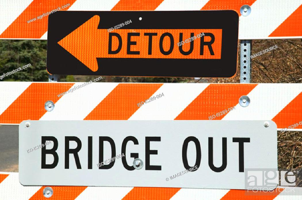 Stock Photo: Detour.