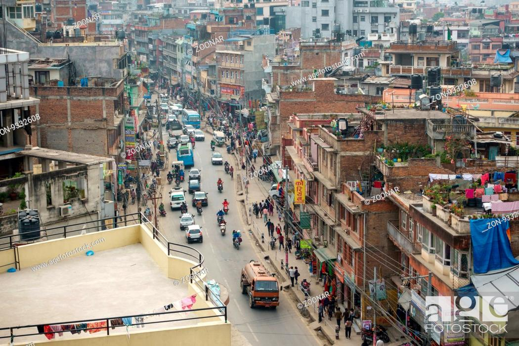 Imagen: Chabahil area in Kathmandu, Nepal. April 2016.