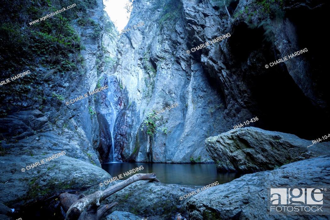 The Cascades, Ceret, Vallespir region, Pyrenees, France, Europe
