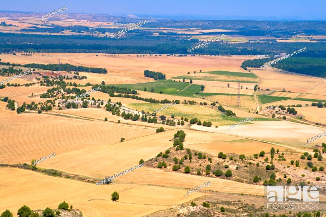 Stock Photo: Spain - Castile and Leon - Province of Soria - The route of the Cid.