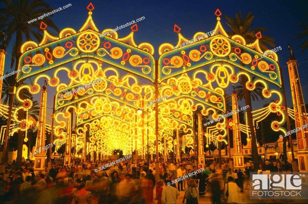 Stock Photo: Horse Fair, Feria del Caballo, Jerez de la Frontera, Province Cadiz, Andalusia, Spain.