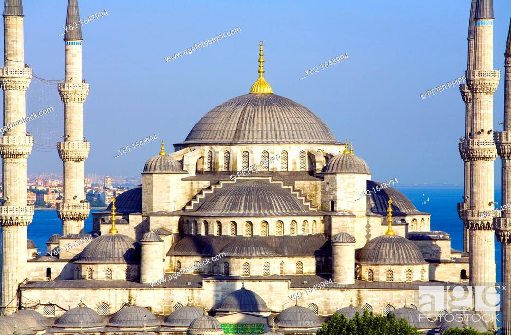 Stock Photo: The 'Blue Mosque' Sultan Ahmet Camii  Istanbul.