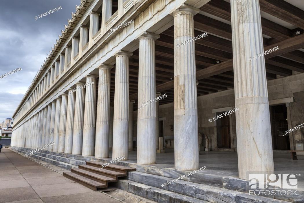 Imagen: Temple of Hephaestus, Hephaestion, Theseion (415 BC), Ancient Agora, Athens, Greece.