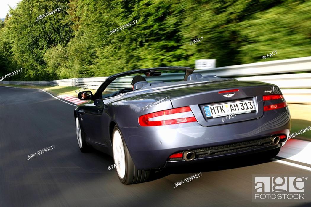Street Man Cabrio Spin Aston Martin Db9 Volante Stern Opinion