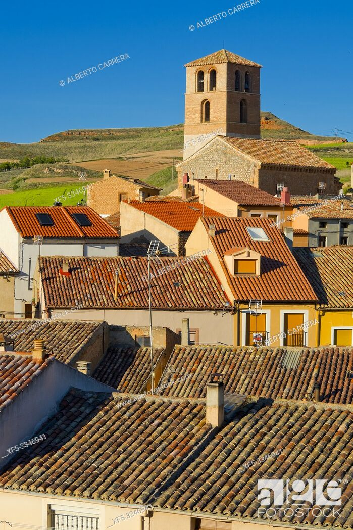 Imagen: Town View, San Esteban de Gormaz, Soria, Castilla y León, Spain, Europe.