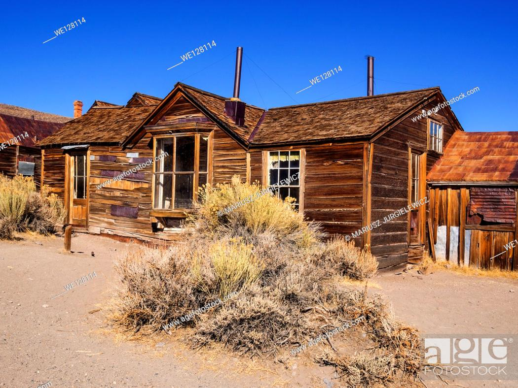 Imagen: Bodie is a ghost town in the Bodie Hills east of the Sierra Nevada mountain range in Mono County, California, United States.