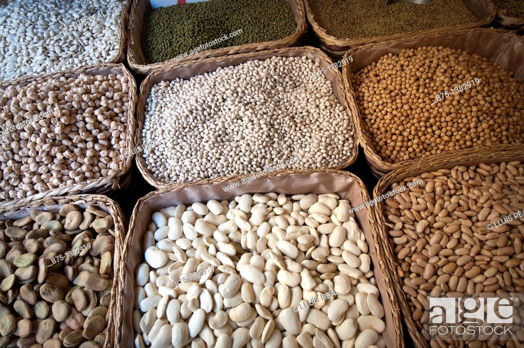 Stock Photo: Legumes.