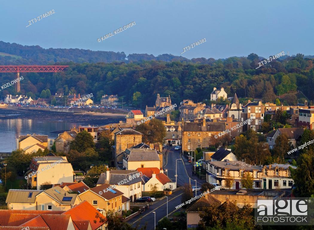 Imagen: UK, Scotland, Lothian, Edinburgh Area, View of the Queensferry. .