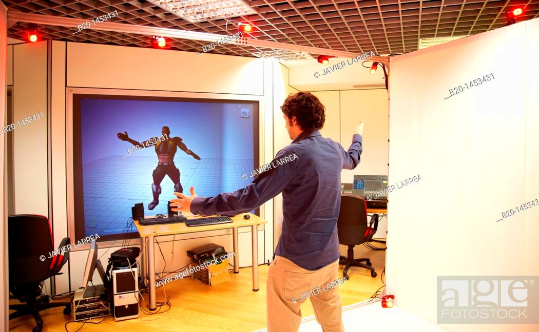 Markerless motion capture system, 3D animation and