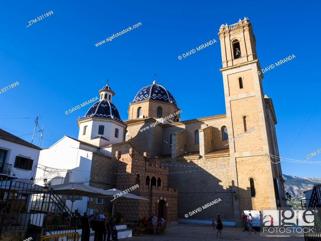 Imagen: Iglesia de la Virgen del Consuelo. Altea. Alicante. Valencian Community, Spain.