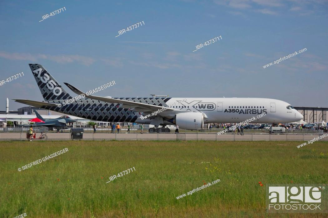 Imagen: Airbus A350, ILA 2016, International Aerospace Exhibition, Berlin, Germany.