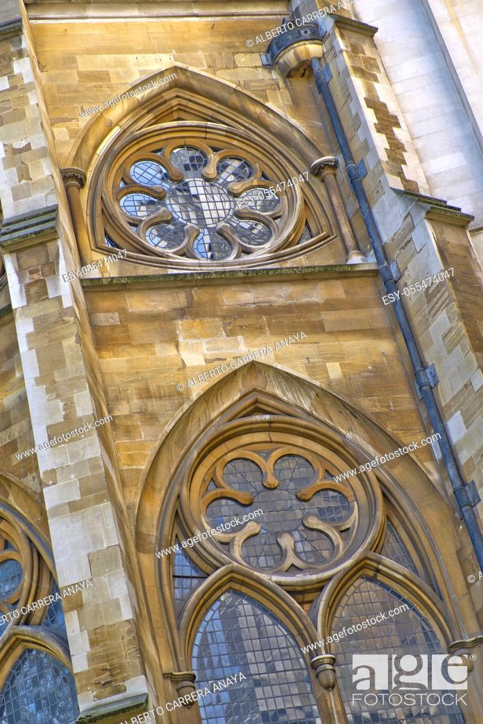 Stock Photo: Westminster Abbey, London, England, Great Britain, Europe.