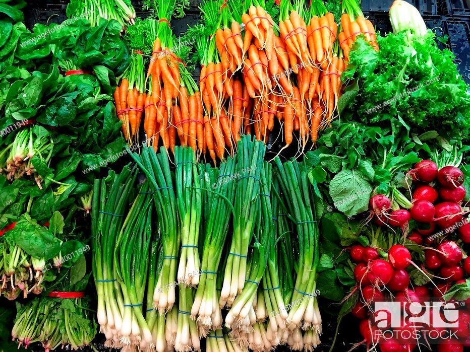 Imagen: Farm Fresh mixed organic vegetables.
