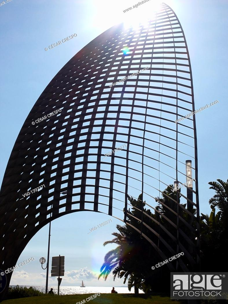 Stock Photo: -Structure of Metal- Catalonia, Spain.