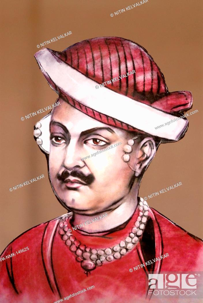 Portrait of shreemant nanasaheb dhondopant great freedom fighter of stock photo portrait of shreemant nanasaheb dhondopant great freedom fighter of indias first war of independence indian mutiny 1857 58 thane thecheapjerseys Gallery