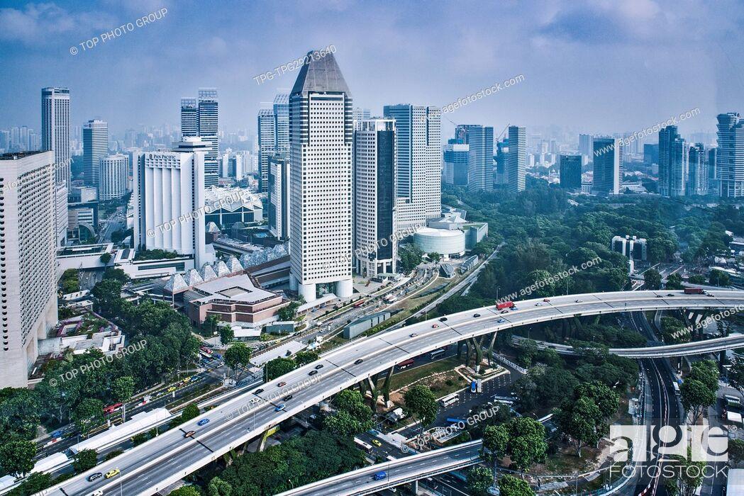 Imagen: cityscape of Singapore.