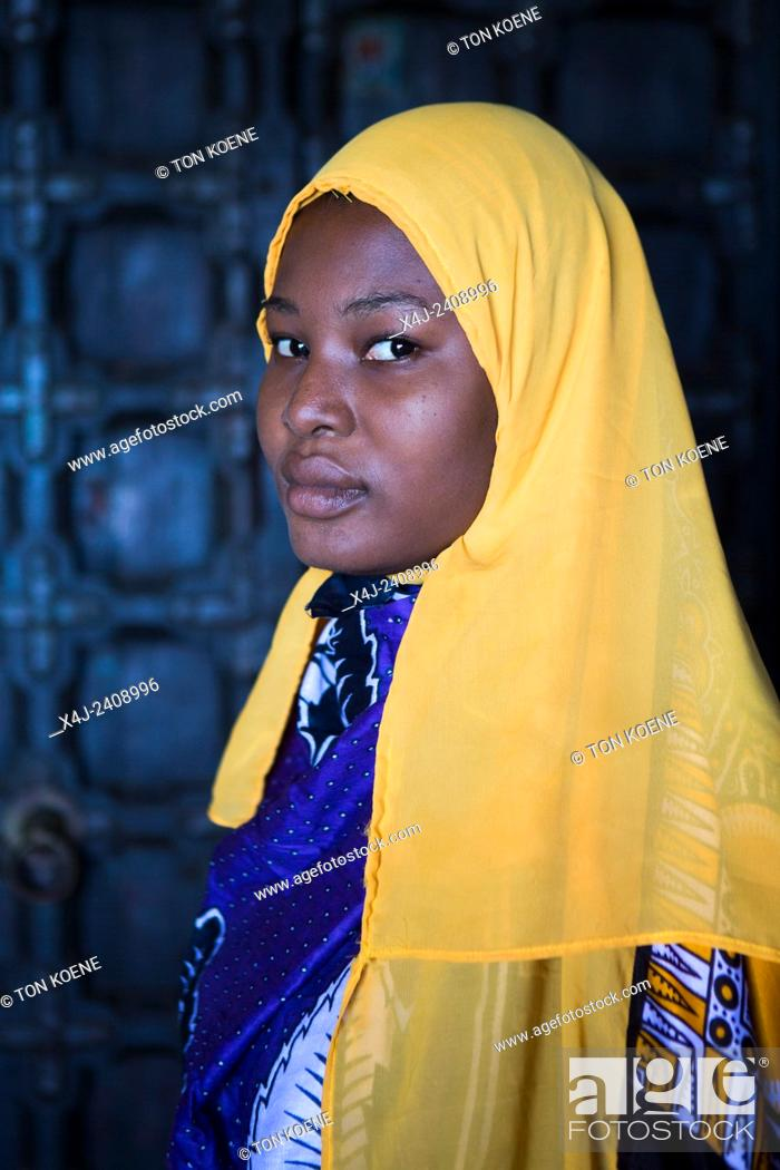 Stock Photo: Miriam Hamid, young woman from Zanzibar.