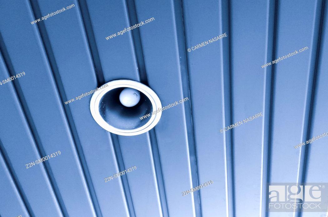 Stock Photo: Ceiling lamp.