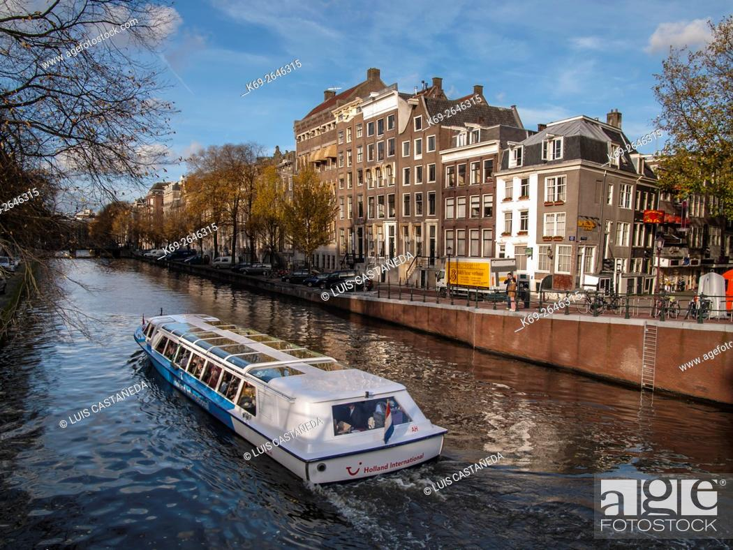 Stock Photo: Canals. Amsterdam.