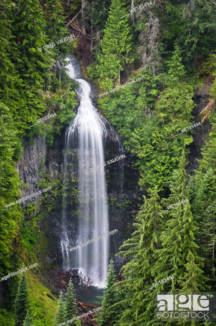Imagen: Martha Falls in Stevens Canyon; Mount Rainier National Park, Washington.