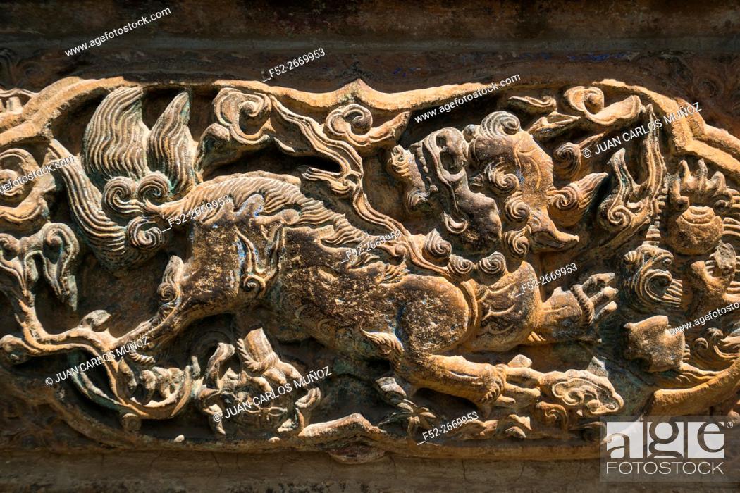 Stock Photo: Yuantong Buddhist Temple, Kunming, Yunnan, China, Asia.