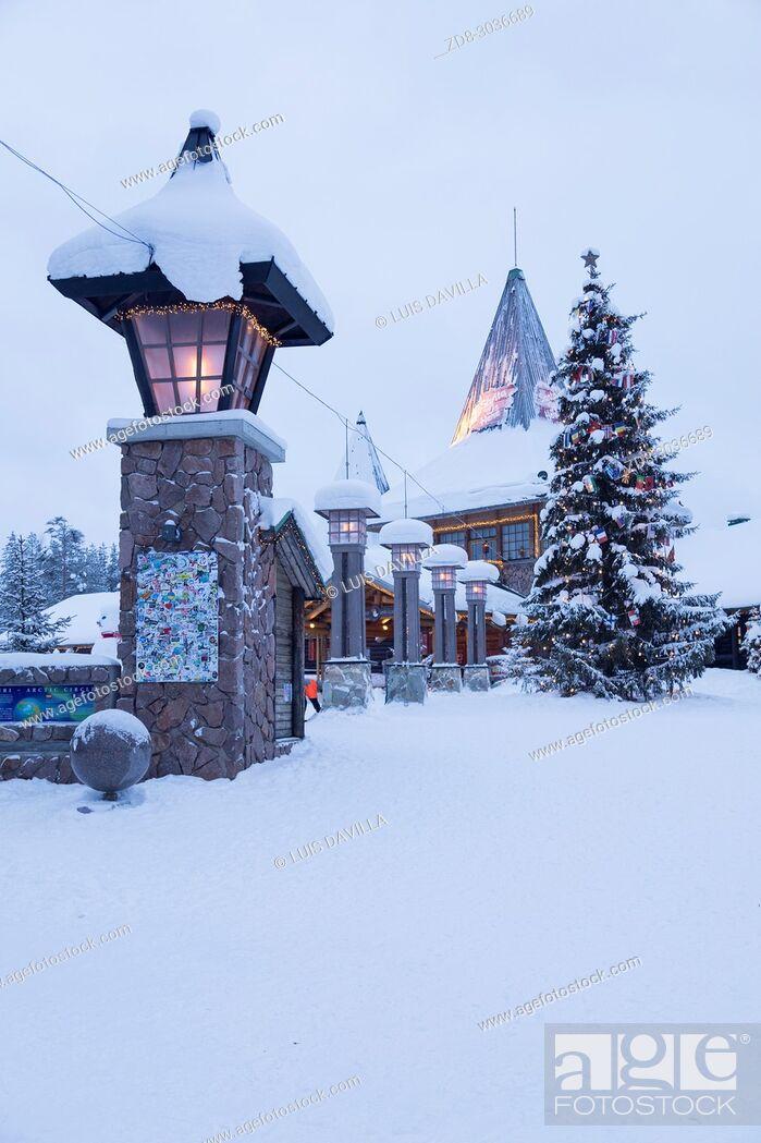 Imagen: Santa Claus Village. Rovaniemi. Finland.
