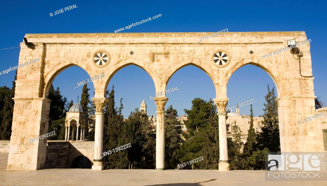 Stock Photo: Temple Mount, Jerusalem, Israel.