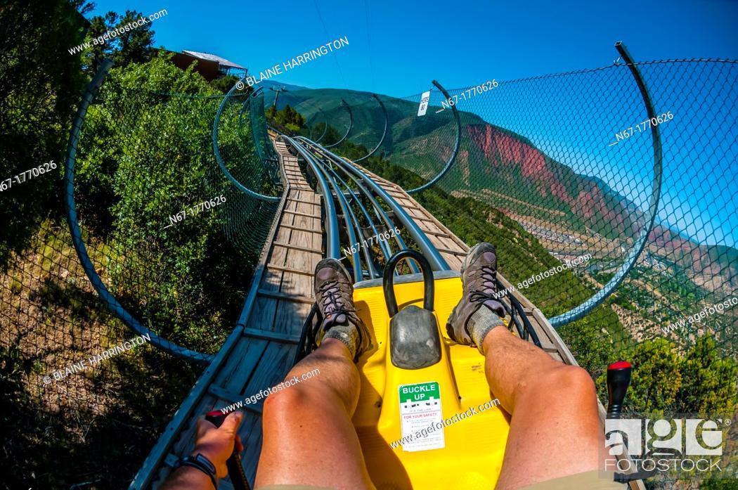 Canyon Flyer An Alpine Rollercoaster Glenwood Cavern Adventure