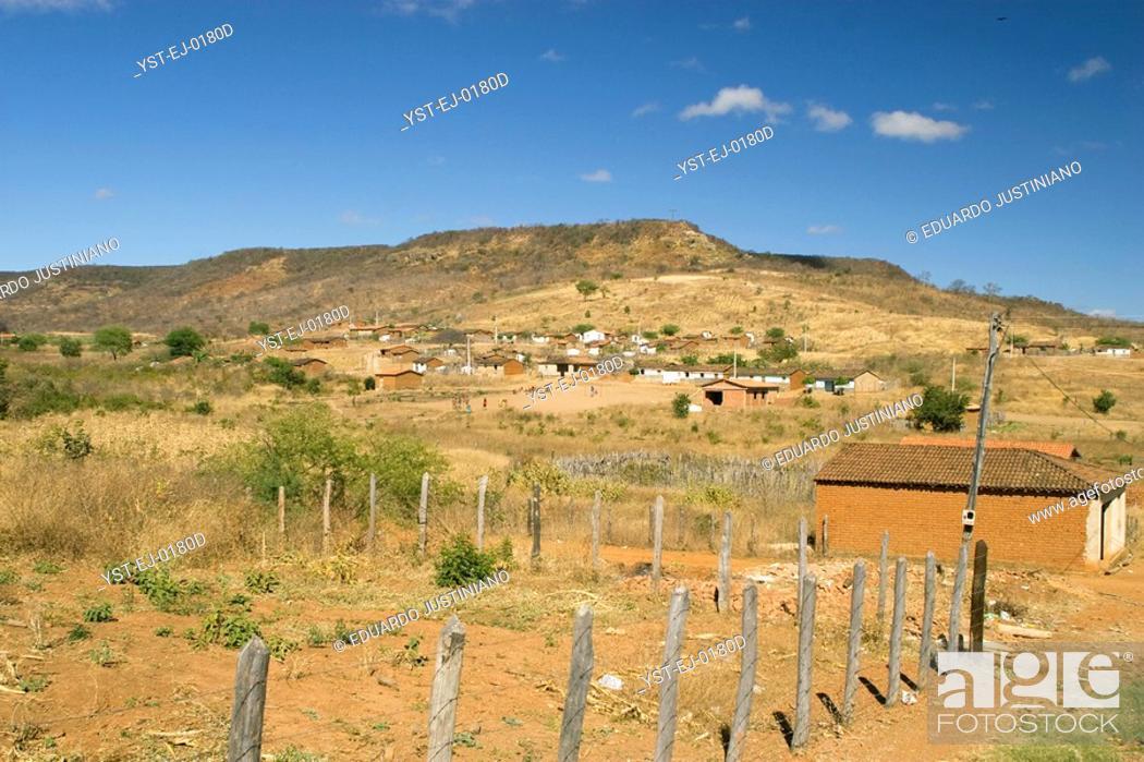 Stock Photo: Landscape, Caracol, Piauí, Brazil.