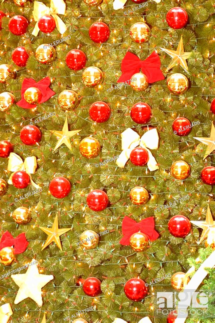 Stock Photo - Decorations of Christmas, Caxias do Sul, Rio Grande do Sul, Brazil
