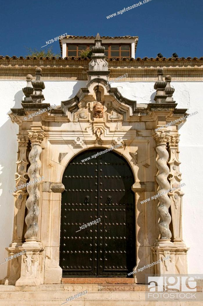 Stock Photo: Church of the Assumption, Cabra, Cordoba province, Andalusia, Spain.