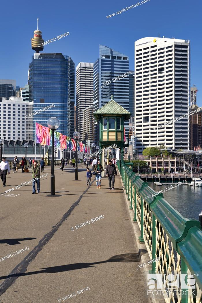 Stock Photo: Sydney Australia. Darling Harbour.