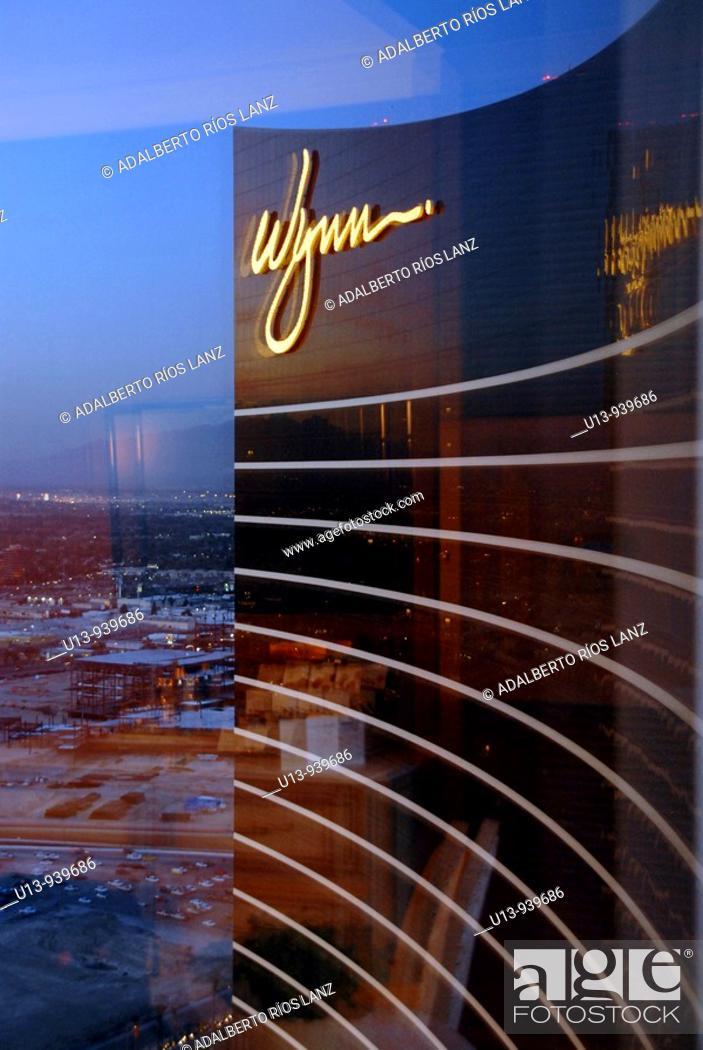 Stock Photo: Wynn resort and casino, Las Vegas. Nevada, USA.