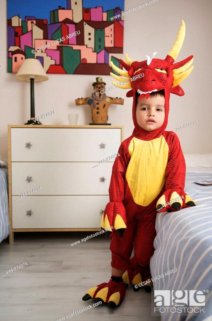 Stock Photo: 3 year old boy.