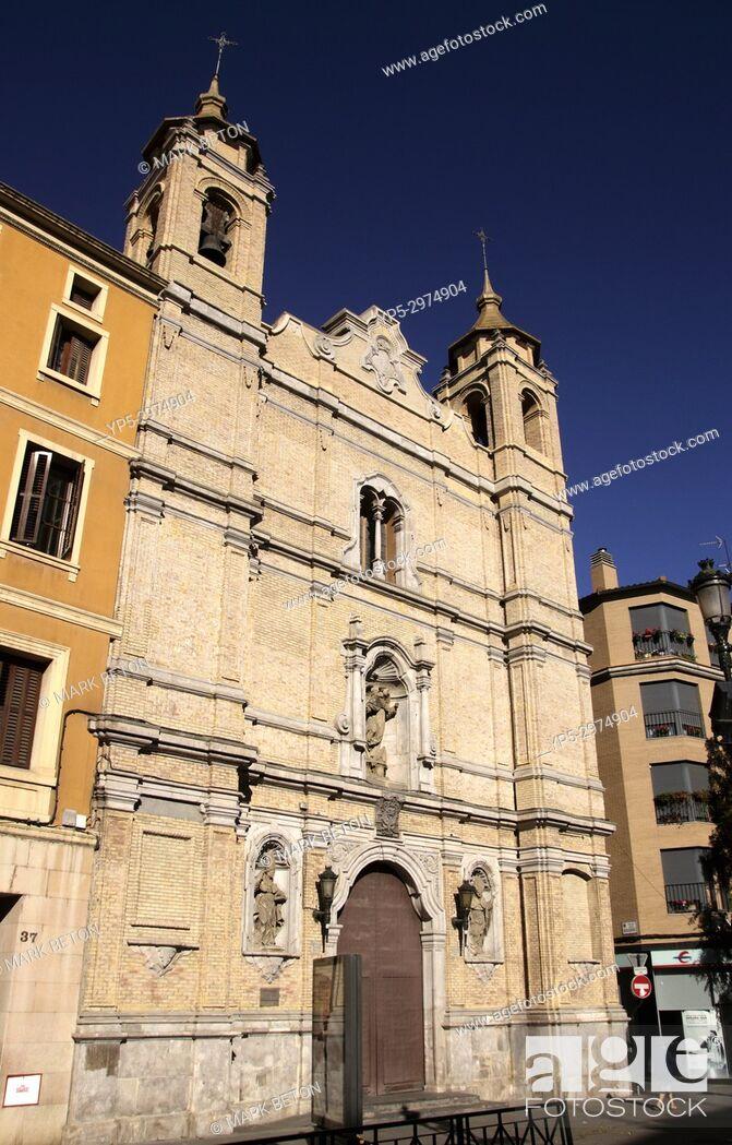 Imagen: Iglesia de Santo Tomas de Aquin church Zaragoza Spain.