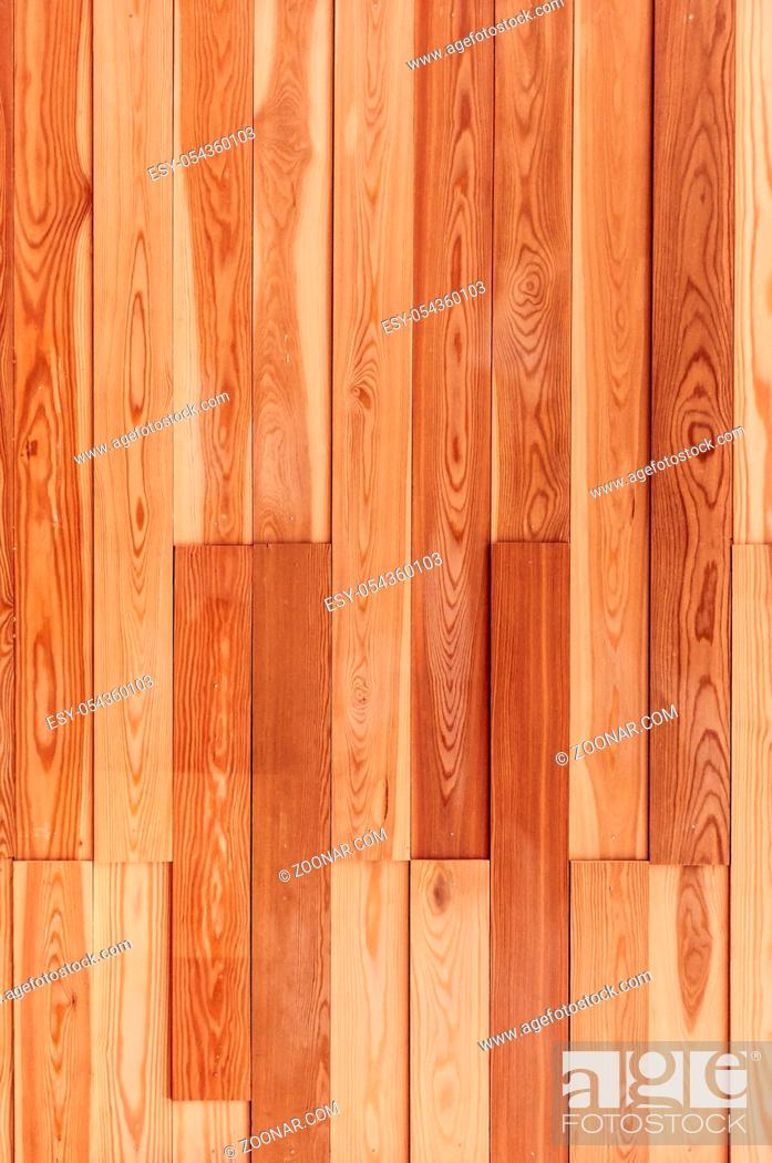 Imagen: Wood background texture of board surface. Brown wooden grunge plank. Timber grain material pattern of vintage table. Wood panel of dark floor.